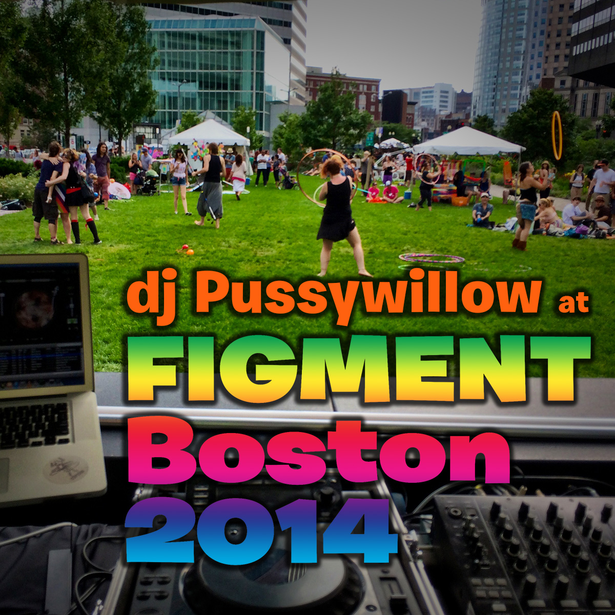 Pussywillow Live at Figment Boston - July 26, 2014